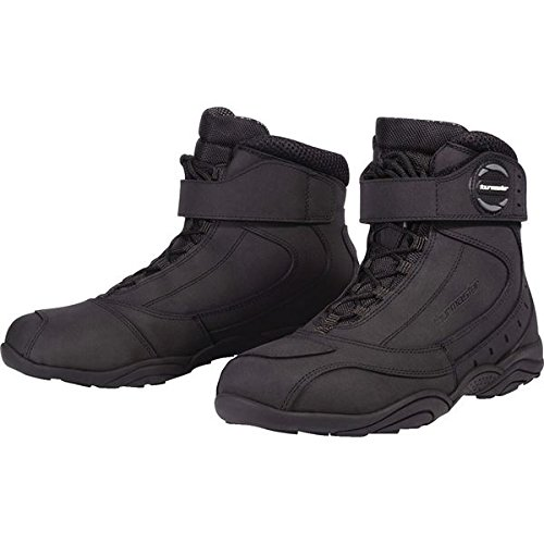 Tourmaster Black Leather Response Waterproof 2.0 Boot