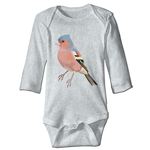 Baby Long Sleeve Bodysuit Bird Wing Feather Snap Closure Toddler Baby Girls Boys Layette Romper Outfits