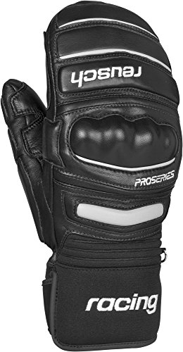 Reusch Snowsports World Champ Ski Mittens, Black, Medium