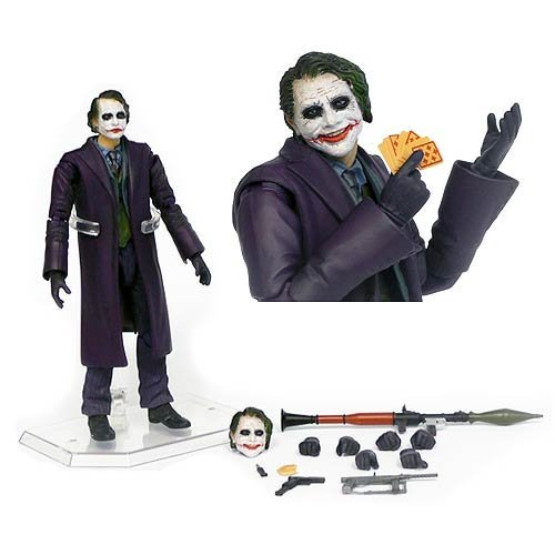 Batman Dark Knight Joker Miracle Action Figure - Previews Exclusive by Medicom