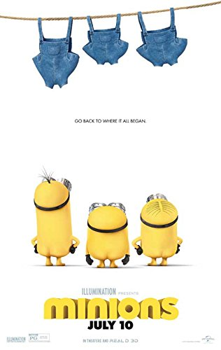 Minions Movie Poster 11 x 17 Style C (2015) Unframed