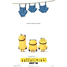 Minions Movie Poster 27 x 40 Style C 2015 Unframed