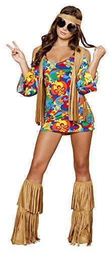 Hippie Hottie Adult Costume - X-Large