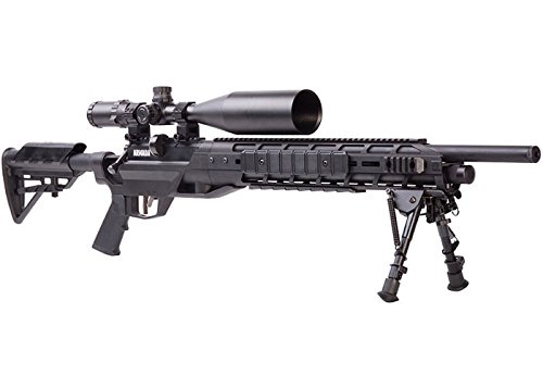 Benjamin BTAP25SX Armada PCP Powered Multi-Shot Bolt Action 25 Cal Hunting Air Rifle with M-LOK Interface & Bipod Air Force Pellet Guns