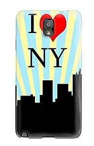 Heidiy Wattsiez's Shop Awesome Defender Tpu Hard Case Cover For Galaxy Note 3- I Love Ny