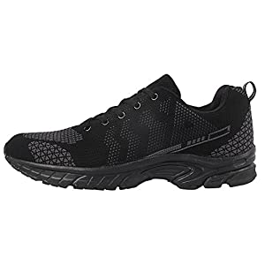 iLoveSIA Men's Trail Running and Walking Shoes - side view 1