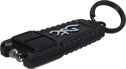 Browning 3713380 3713380 Flash Rechargeable USB Keychain, Light Black