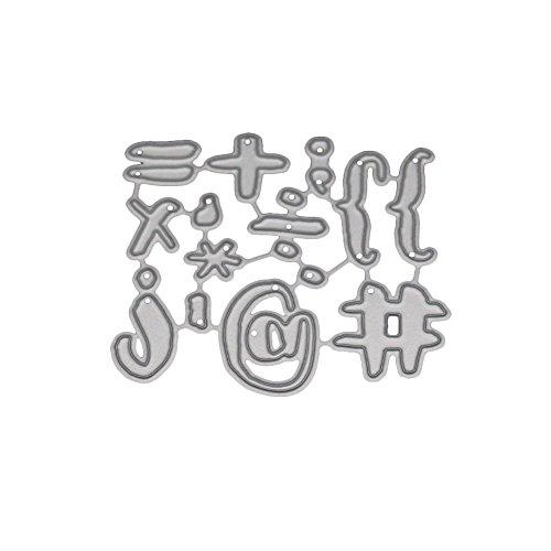 POQOQCuttingDiesScrapbookingPaperCardMetalDieCutStencils#0202R,AccessoriesforBigShotandOtherCutterMachine(H) ()