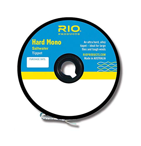 Rio Fly Fishing Tippet Hard Mono Saltwater 25Lb 30yd Fishing Tackle, Clear