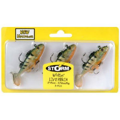 (Storm WildEye Live Perch 03 Fishing lure (Perch, Size- 3))