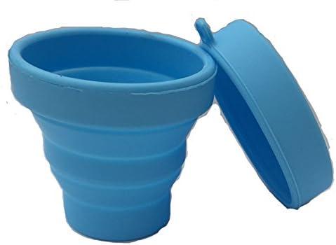 Mix Flower Esterilizador De Copa Menstrual Caja De Almacenamiento Esterilizadora con Tapa Silicona Taza Plegable 170ml Grado Médico Reutilizable Azul Verde Rosa -30°C - 220°C: Amazon.es: Salud y cuidado personal