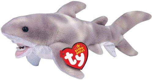 Ty Finn -Shark Beanie Baby -