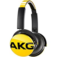 AKG sealed headphones (yellow) Y50YEL