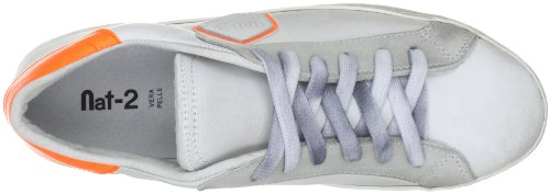 Nat-2 SASH Herren Fashion Sneakers Weiss (white orange)