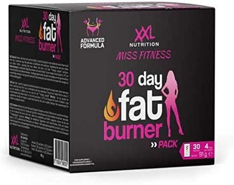XXL Nutrition 30 Day Fat Burner Pack | Fatburner speziell für Frauen!