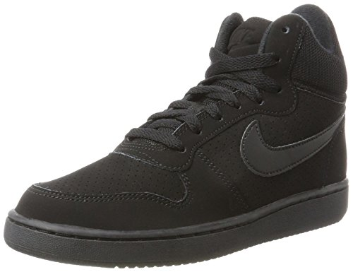 Court Eu Black Noir 42 Mid Borough Baskets Nike Femme 7wPPqd