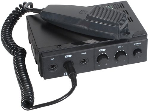 TOA CA-160 Mobile Mixer-Amplifier 12 VDC 60W