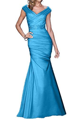 Promgirl House - Robe - Crayon - Femme -  Bleu - 42