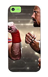 New Premium AvNqpGH1177rlBUV Case Cover For Iphone 5c/ John Cena Vs The Rock Protective Case Cover by mcsharks