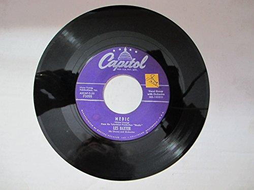 Unchained Melody / Medic - Lex Baxter [45 RPM Vinyl]