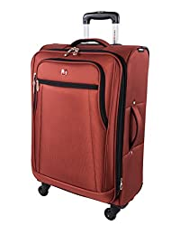 Swiss Gear Cross Country 24-Inch Upright with Expansion, Spice, Checked - Medium