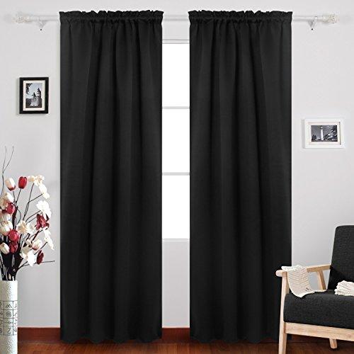 Deconovo Pocket Curtains Blackout Darkening