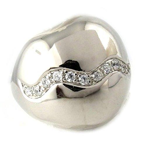 Silver ring 'Cleopatra' (Cleopatra Ring Band)