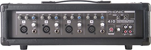 Phonic Powerpod 410 100W 4 Channel Powered Mixer With Variable Delay