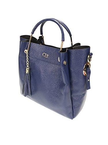 Milanese à pour Bleu alessandro femme main Sac collezione WpZw7SxvqW