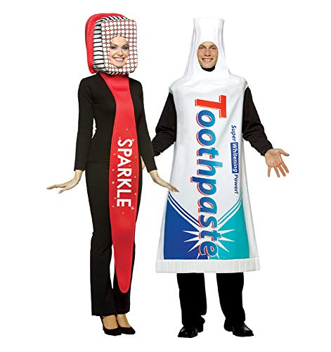 Toothbrush and Toothpaste Costume Set ()