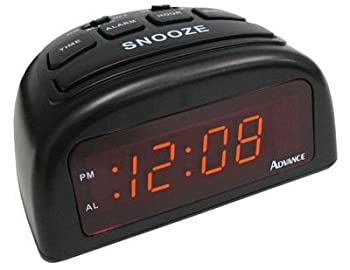 La Crosse Technology 0.6 Led Black Alarm Clock 0