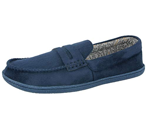 Joe Tweed Camoscio Navy Uomo Jo Fodera A Finto Eleganti amp; In Pantofole Blue Mocassino Da Pile 5qnRz1fwxO