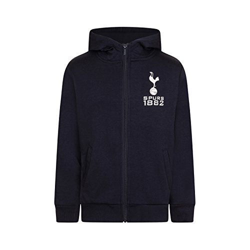 Away Hotspur Tottenham Shirt (Tottenham Hotspur FC Official Soccer Gift Boys Fleece Zip Hoody Navy 6-7 Years)