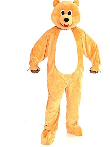Forum Novelties Bear Mascot Teen Costume, Tan
