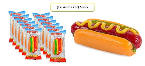 gummy hot dog candy - 7
