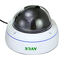 AVUE AV830SD Day and Night Vandal Dome 2.8-11mm Lens for Surveillance Cameras