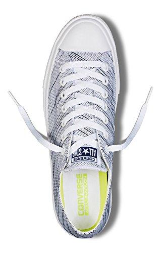 Converse Unisex White Black Basketball II Chuck Taylor Shoe Ox rrwqd7x