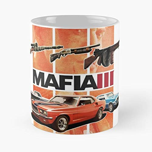 Mafia 3 Maffia Vito Corleone Crocodile - Morning Coffee Mug Ceramic Novelty Holiday (Mafia 3 Best Car)