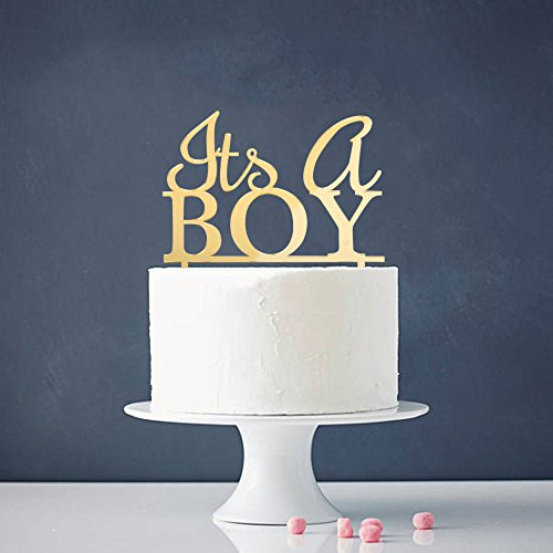 Gender Reveal Cake Toppers Amazon