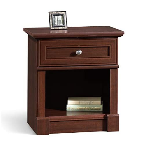 Sauder Palladia Night Stand, Select Cherry finish