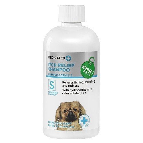 GNC Pets Itch Relief Shampoo- Eucalyptus Scent 17 oz(s) (Gnc Pets Shampoo)