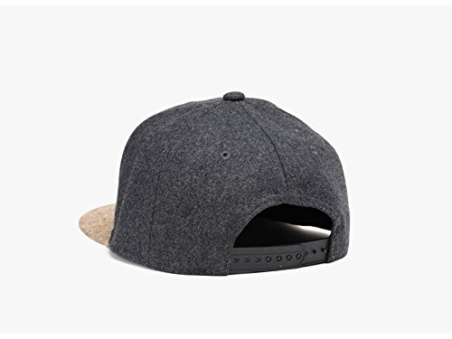 Fashion Color Simple Gorra Ruiyue béisbol Men Simple Deep Women de Autumn Snapback Classic Cork Hip Hop Caps Invierno Sombreros gray Hat Uq8rqE6xn