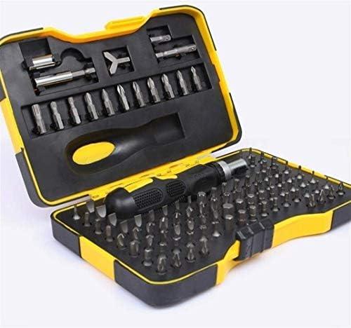 QUETAZHI Wrench screwdriver set 101 in 1 multi-function household essential tool set home appliance car repair and maintenance DIY manual tool repair tool