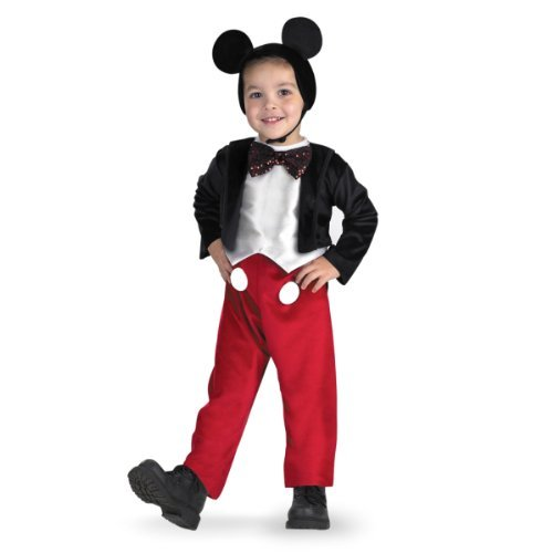 Cute Costumes To Make For Halloween (MICKEY MOUSE DELUXE, Size: 4 to 6)