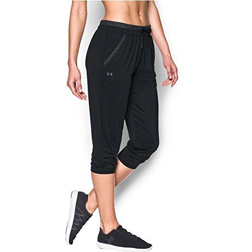 Under Armour Women's Got Game Ankle Crop, Black/Black, X-Large