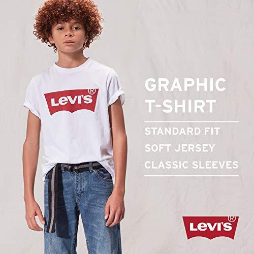 Snow Boy 16 shirt Levi's Anni T Yarn Medium 8 Manica Corta Green ZvqqdTwA4