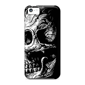 New Shockproof Protection Cases Covers For Iphone 5c/ Skull Cases Covers