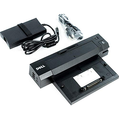 Dell PR02X E-Port Plus II Port Replicator with PA-4E 130 Watt AC Adapter.