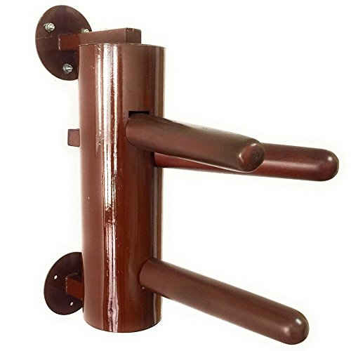AugustaPro Wing Chun Dummy - Half Sized Wall Mount Metal Dummy