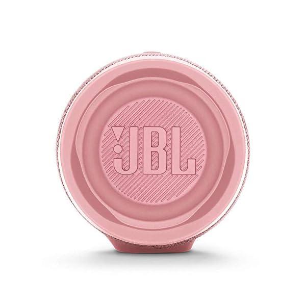 JBL Charge 4 - Enceinte Bluetooth portable avec USB - Robuste et étanche : pour piscine et plage - Son puissant - Autonomie 20 hrs - Rose 5